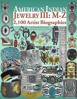 American Indian Jewelry v3 Hallmarks & 2,100 Artist Biographies Native American