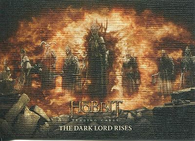 Hobbit Battle Of 5 Armies Canvas Base Card #28 The Dark Lord Rises