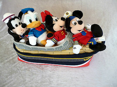 Disney Cruise Line mit Mickey, Minnie, Donald, Goofy unbespielt!!