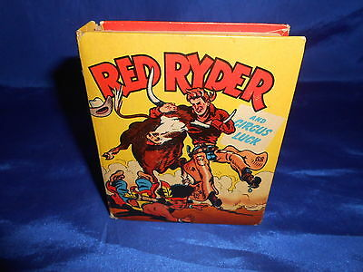 Red Ryder And Circus Luck Whitman #1466 Better Little Book Fred Harman 1949 VG+