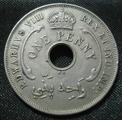 Edward Viii The Abdicator King British West Africa 1936 Kn Penny