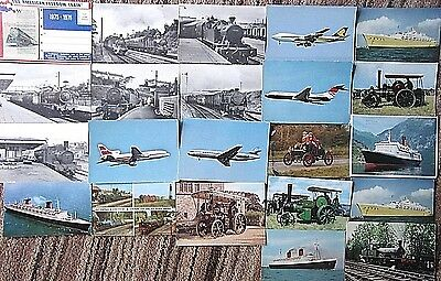 Collection of Transport Postcards