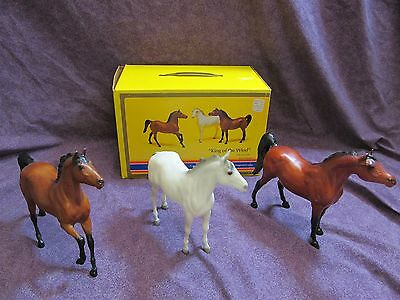 Lot of 3 Breyer Horses King of the Wind 3345 Set w/ Original Box. Classic