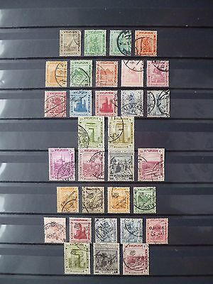 EGYPT :-  1914 - 1922 : Used selection.