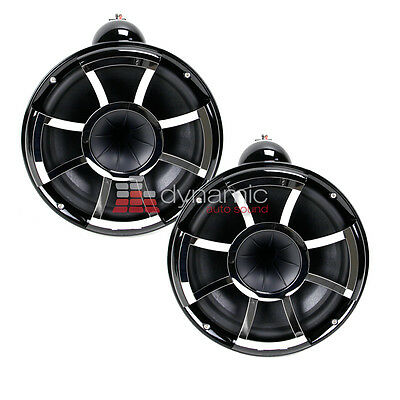 "Wet Sounds REV10B-X Revolution 10"" EFG 4 ohm HLCD Marine Tower Speakers New"