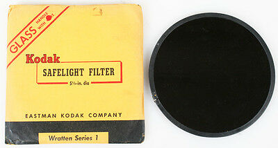 Kodak Series 1 5.5Inches Round Safelight Filter Dark Red