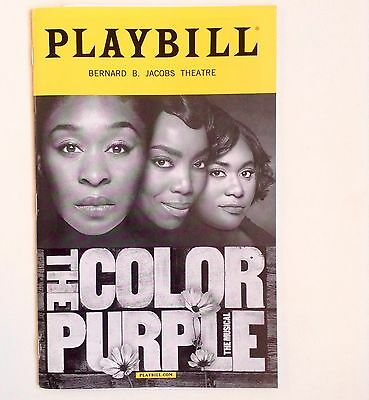 Broadway ' The Color Purple ' Playbill