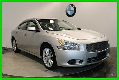 2012 Nissan Maxima 3.5 S MOONROOF KEYLESS ENTRY 2012 Nissan Maxima Silver Sedan 3.5 S MOONROOF KEYLESS ENTRY FWD