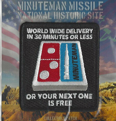 Minuteman Missile National Historic Site-World Wide Delivery - Souvenir Patch-