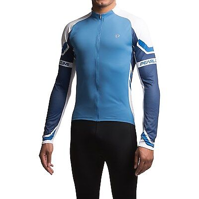 Pearl Izumi Elite Jersey Bicycle Shirt Men's Size L Long Sleeve Bike Top NEW
