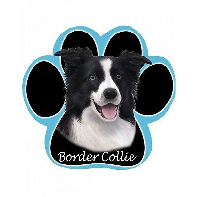 BORDER COLLIE Dog Paw Shaped Computer MOUSE PAD Mousepad