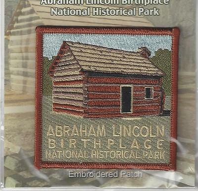Abraham Lincoln Birthplace National Historical Park, Kentucky Souvenir Patch -