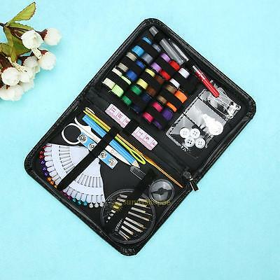 91pcs/Set Sewing Kit Scissors Needle Thread for Home Stitching Hand Sewing Tools