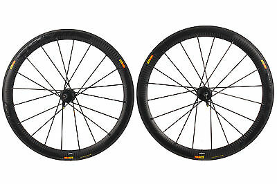 Mavic Cosmic SLR Road Bike Wheel Set 700c Carbon Clincher Shimano 11 Speed