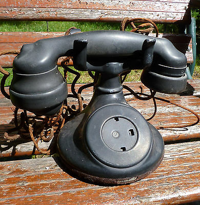 Western Electric 102 Telephone with E1 Handset Antique Vintage Phone