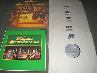 The Magic Of Christmas-6 Lp Box Set Original Artists Reader's Digest + Booklet