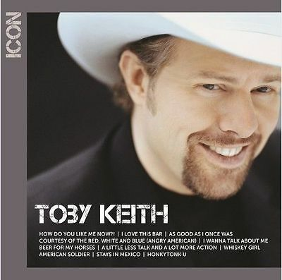 Toby Keith ~ Icon ~ Best Of ~ Greatest Hits ~ NEW CD Album 2017 ~ Country