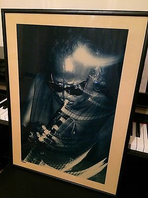 Miles Davis Blue Notes Limited Edition Print By Nick White #167/1000 Virgin 1St