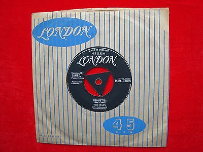 """The Rays- Silhouettes/ Daddy Cool UK 7"""" 45 single on London Records 1958 TRI"""