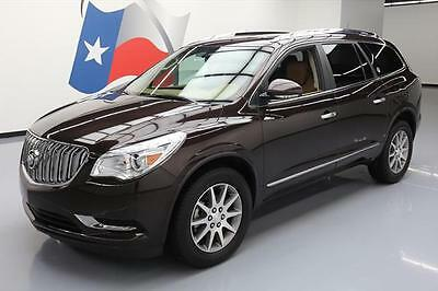 2016 Buick Enclave Leather Sport Utility 4-Door 2016 BUICK ENCLAVE LEATHER 7-PASSENGER NAV REAR CAM 31K #178374 Texas Direct