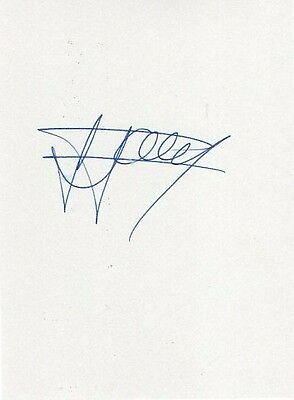 Rangers/ Harry Forrester HAND SIGNED card