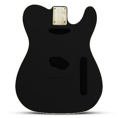 Black Gloss Body for telecaster, American Ash, With Cream Binding
