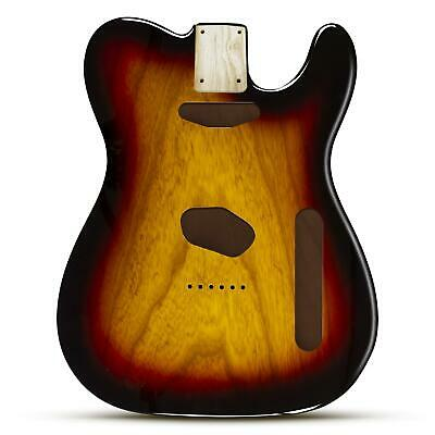 3 Colour Sunburst Body for telecaster, 2 Piece American Ash