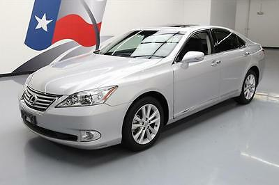 2012 Lexus ES Base Sedan 4-Door 2012 LEXUS ES350 CLIMATE SEATS SUNROOF NAV REAR CAM 12K #491432 Texas Direct