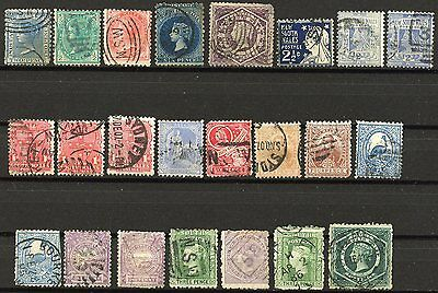 New South Wales  Lot Of Used Stamps As Shown