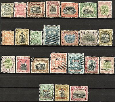 North Borneo  Lot Of Used Stamps As Shown