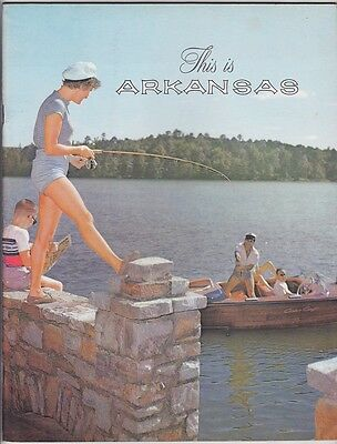 1961 Arkansas State Tourism Promotional Booklet