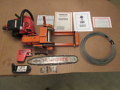Lewis Chainsaw Winch - 8000 Capacity
