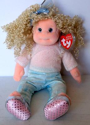 Ty Beanie Boppers SASSY STAR CLOTH DOLL December 4 Retired