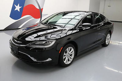 2016 Chrysler 200 Series  2016 CHRYSLER 200 LTD REAR CAM CRUISE CTRL ALLOYS 32K #102731 Texas Direct Auto