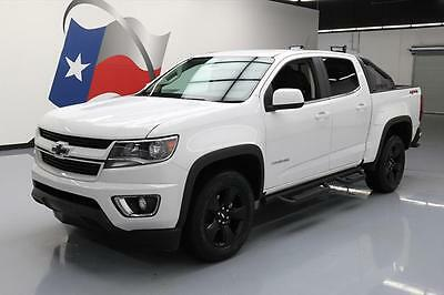 2016 Chevrolet Colorado  2016 CHEVY COLORADO LT CREW 4X4 SPORT BAR LEATHER 9K MI #193276 Texas Direct