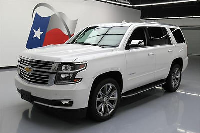 2016 Chevrolet Tahoe LTZ Sport Utility 4-Door 2016 CHEVY TAHOE LTZ 4X4 7PASS SUNROOF NAV DVD 22'S 24K #216409 Texas Direct