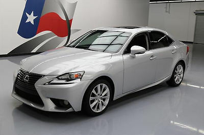 2014 Lexus IS  2014 LEXUS IS250 SUNROOF REARVIEW CAM PADDLE SHIFT 20K #038759 Texas Direct Auto