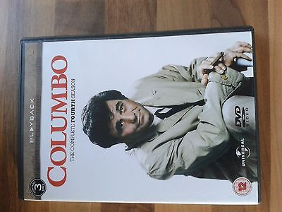 Columbo The Complete Fourth Season (Dvd) Box Set