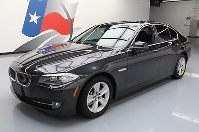 2013 BMW 5-Series Base Sedan 4-Door 2013 BMW 528I TURBOCHARGED SUNROOF NAV REAR CAM 35K MI #Y34339 Texas Direct Auto