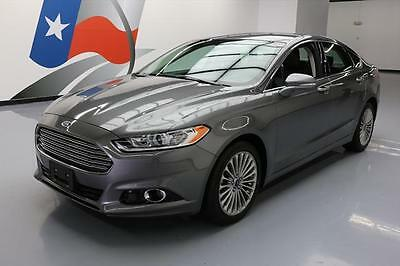 2014 Ford Fusion  2014 FORD FUSION TITANIUM ECOBOOST LEATHER REAR CAM 40K #304304 Texas Direct