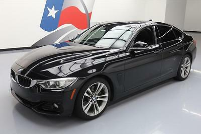 2015 BMW 4-Series Base Hatchback 4-Door 2015 BMW 435I GRAN COUPE SPORT AUTO SUNROOF NAV HUD 58K #418243 Texas Direct