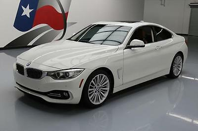 2014 BMW 4-Series Base Coupe 2-Door 2014 BMW 428I SUNROOF NAV REAR CAM HEATED SEATS 29K MI #230670 Texas Direct Auto
