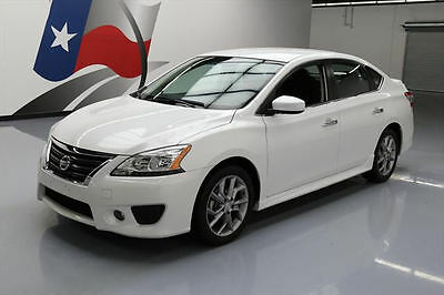 2014 Nissan Sentra  2014 NISSAN SENTRA SR SEDAN AUTOMATIC NAV REAR CAM 38K #612056 Texas Direct Auto
