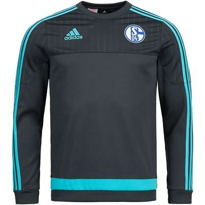 FC Schalke 04 adidas Kinder Trainings Kids Sweatshirt Top 128 140 152 164 176