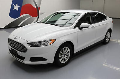 2015 Ford Fusion  2015 FORD FUSION S CRUISE CTRL REAR CAM ALLOYS 55K MI #257330 Texas Direct Auto
