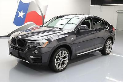 2015 BMW Other xDrive35i Sport Utility 4-Door 2015 BMW X4 XDRIVE35I AWD XLINE PREM PANO ROOF NAV 22K #E87848 Texas Direct Auto