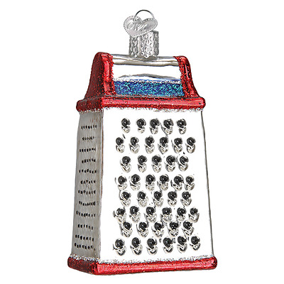 """""""Cheese Grater"""" (32282) Old World Christmas Glass Ornament w/OWC Box"""