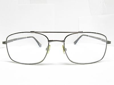 e8e3684ff028 Authentic TIMEX Rectangular AVIATOR EYEGLASSES Eyewear FRAMES 57-18 TV6  93571