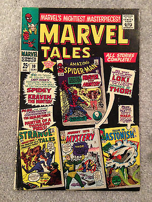 Marvel Tales # 10 Fine Reprints Amazing Spider-Man 15 Journey Into Mystery 92 +