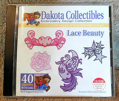 Lace Beauty Dakota Collectibles Embroidery Design Collection: 970306